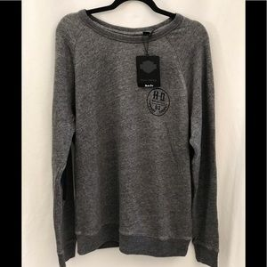 Harley Davidson Slim Fit Gray Sweatshirt Size XL